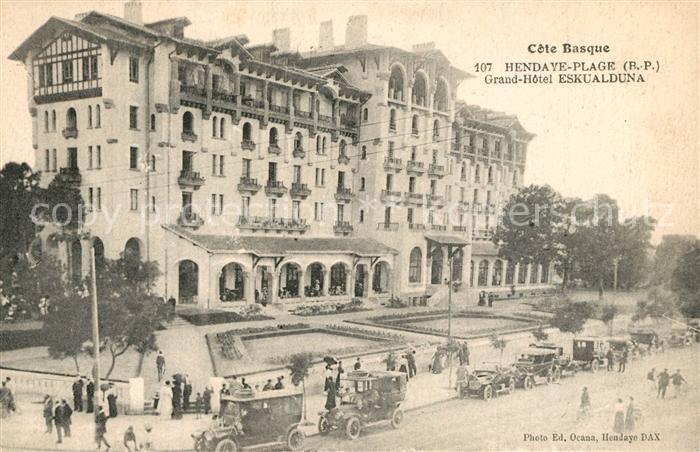 AK / Ansichtskarte Hendaye_Pyrenees_Atlantiques Grand Hotel Eskualduna Hendaye_Pyrenees 0