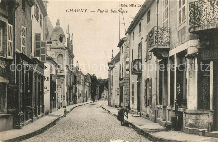 AK / Ansichtskarte Chagny_Ardennes Rue de la Bouthiere Chagny Ardennes 0
