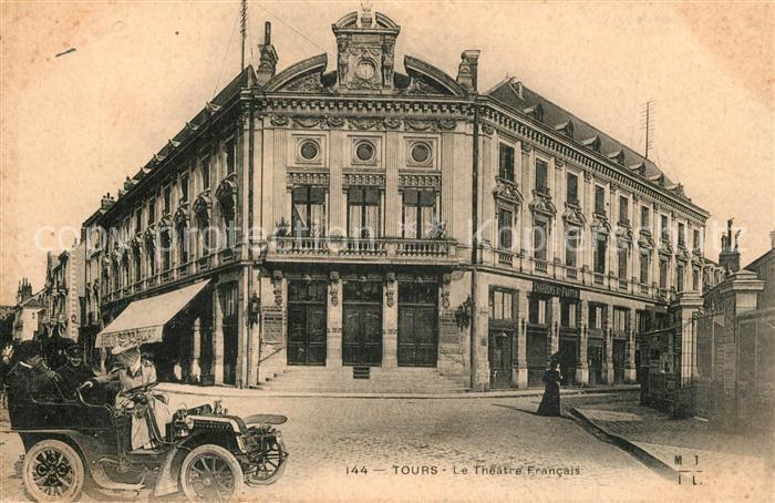 AK / Ansichtskarte Tours_Indre et Loire Le Theatre Francais Tours Indre et Loire 0