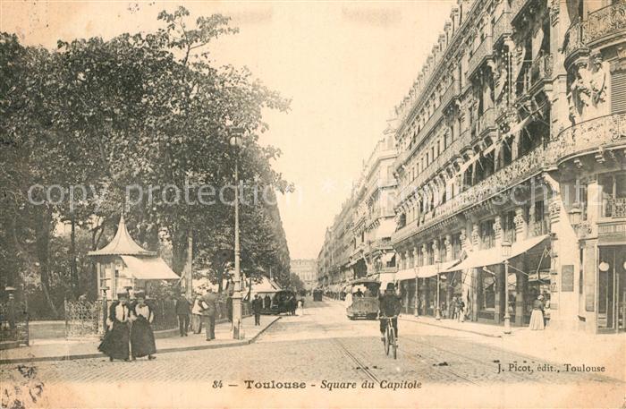 AK / Ansichtskarte Toulouse_Haute Garonne Square du Capitole Toulouse Haute Garonne 0