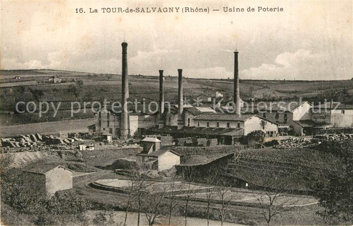 AK / Ansichtskarte La_Tour de Salvagny Usine de Poterie La_Tour de Salvagny 0