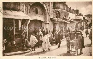 AK / Ansichtskarte Sfax Bab Diwan Sfax