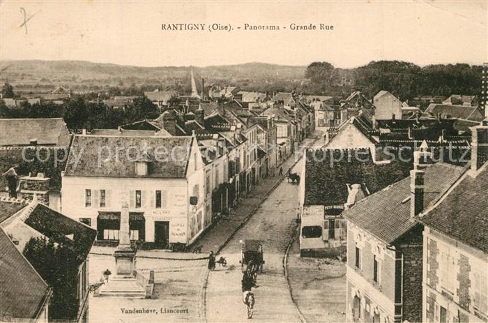 AK / Ansichtskarte Rantigny Panorama Grand Rue Rantigny 0