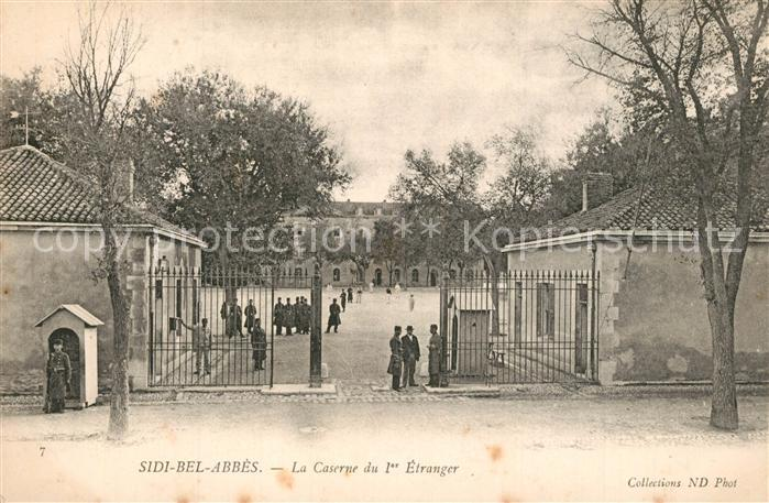 AK / Ansichtskarte Sidi Bel Abbes la Caserne du 1er Etranger Sidi Bel Abbes 0
