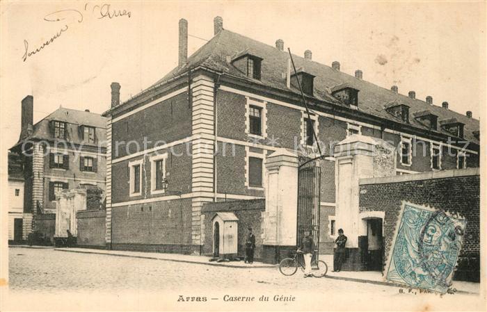 AK / Ansichtskarte Arras_Pas de Calais Caserne du Genie Arras_Pas de Calais