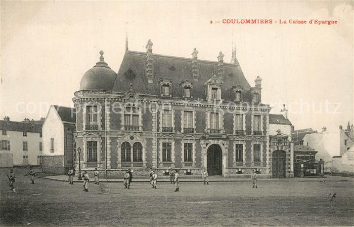 AK / Ansichtskarte Coulommiers La Caisse d Espargne Coulommiers