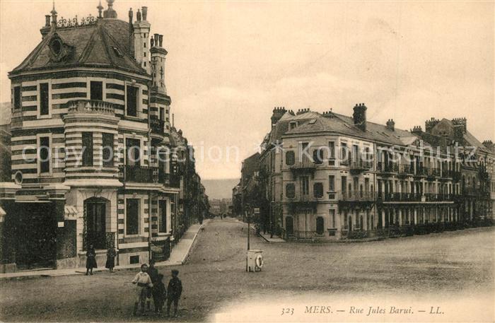 AK / Ansichtskarte Mers sur Indre Rue Jules Barui Mers sur Indre 0