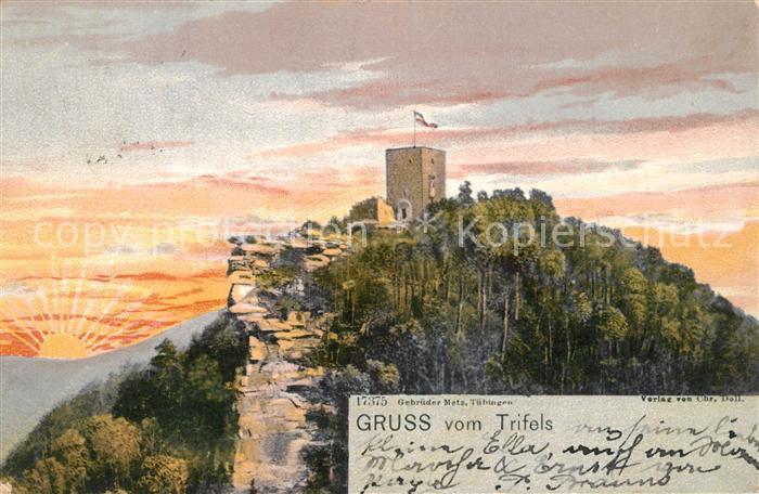 AK / Ansichtskarte Annweiler_Trifels Burg  Annweiler_Trifels 0