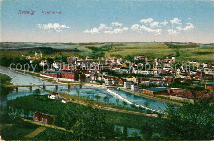 AK / Ansichtskarte Kettwig Panorama Kettwig 0