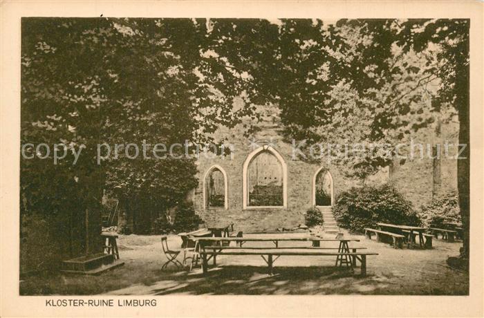 AK / Ansichtskarte Limburg_Lahn Kloster Ruine Limburg_Lahn 0