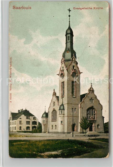 AK / Ansichtskarte Saarlouis Kirche Saarlouis 0
