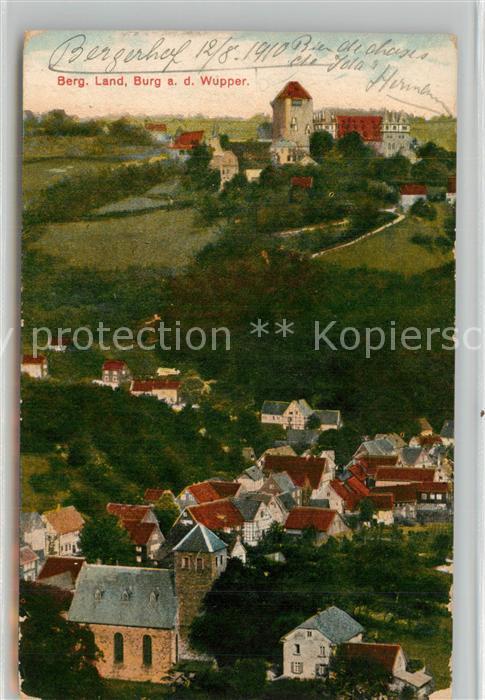AK / Ansichtskarte Burg_Wupper mit Burg Burg Wupper 0