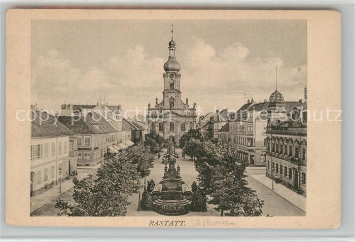 AK / Ansichtskarte Rastatt  Rastatt 0