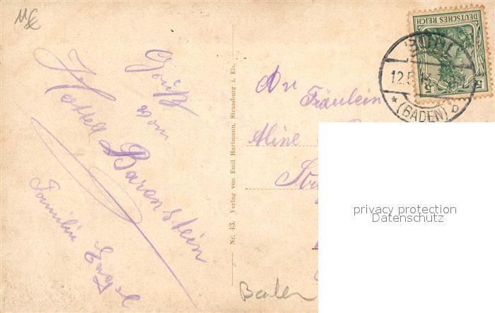 AK / Ansichtskarte Buehl_Baden Schwarzwald Hotel Baerenstein Buehl_Baden 1