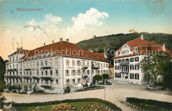 AK / Ansichtskarte Badenweiler Kurhaus Kurhotel Badenweiler 0