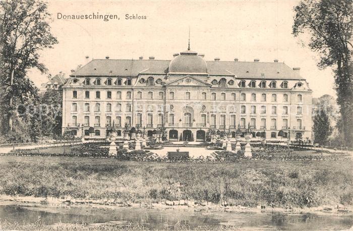 AK / Ansichtskarte Donaueschingen Schloss Donaueschingen 0