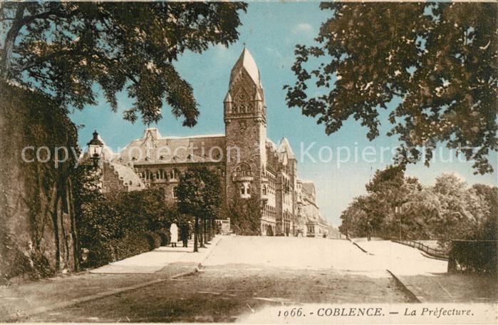 AK / Ansichtskarte Coblence_Coblenz_Koblenz Prefecture Coblence_Coblenz_Koblenz 0