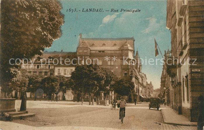 AK / Ansichtskarte Landau_Pfalz Rue Principale Landau Pfalz 0
