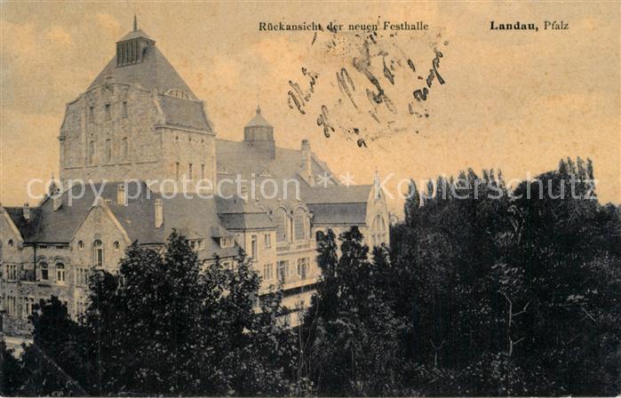 AK / Ansichtskarte Landau_Pfalz Festhalle Landau Pfalz 0