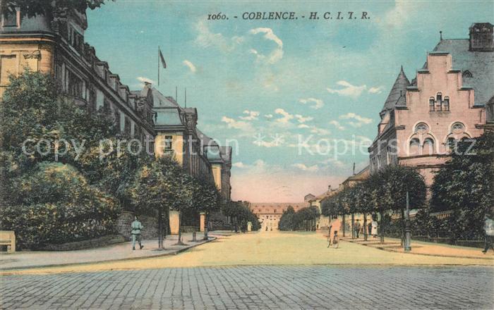 AK / Ansichtskarte Coblence_Coblenz_Koblenz Stadtpanorama Coblence_Coblenz_Koblenz 0