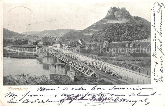 AK / Ansichtskarte Ebernburg Bruecke Ebernburg 0
