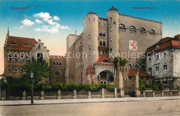 AK / Ansichtskarte Duesseldorf Schauspielhaus Duesseldorf 0