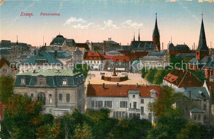 AK / Ansichtskarte Essen_Ruhr Panorama Essen_Ruhr 0
