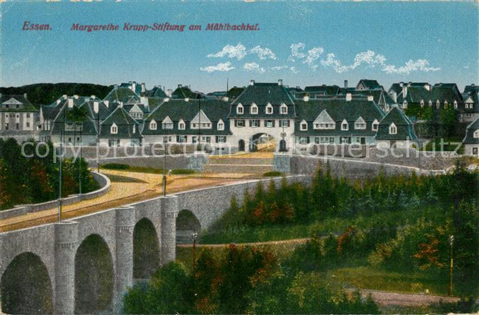 AK / Ansichtskarte Essen_Ruhr Margarethe Krupp Stiftung Muehlbachtal Essen_Ruhr 0