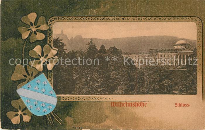 AK / Ansichtskarte Wilhelmshoehe_Kassel Schloss Wilhelmshoehe Kassel 0