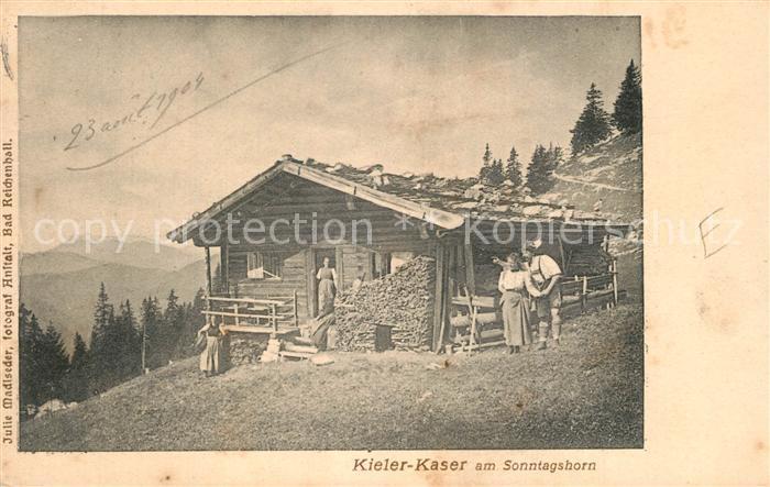 AK / Ansichtskarte Heutal_Unken Kieler Kaser Sonntagshorn Heutal Unken 0