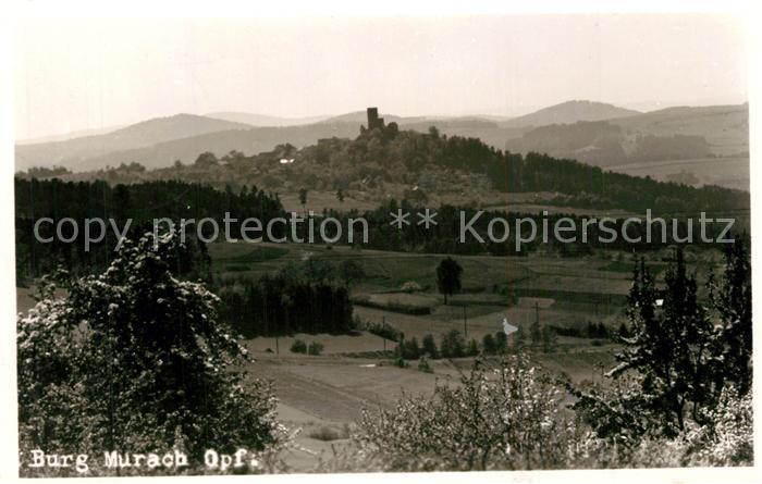 AK / Ansichtskarte Oberviechtach Burg Murach Oberviechtach 0