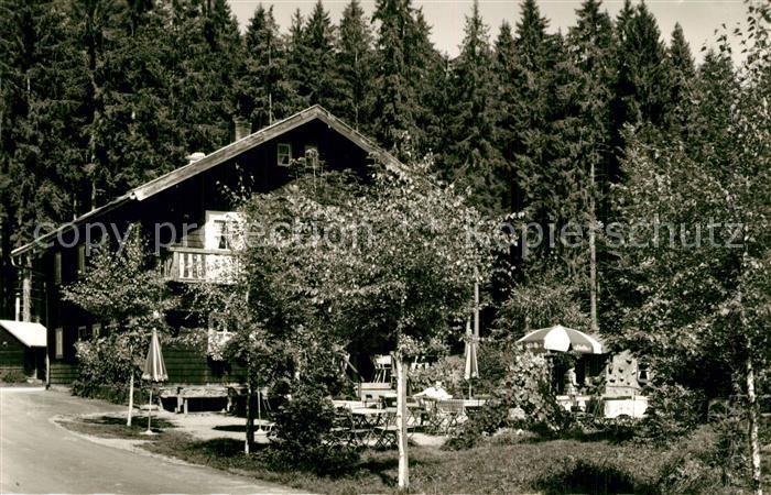 AK / Ansichtskarte Bayerisch_Eisenstein Zwieseler Waldhaus Cafe Schwellhaeusl Bayerisch_Eisenstein 0