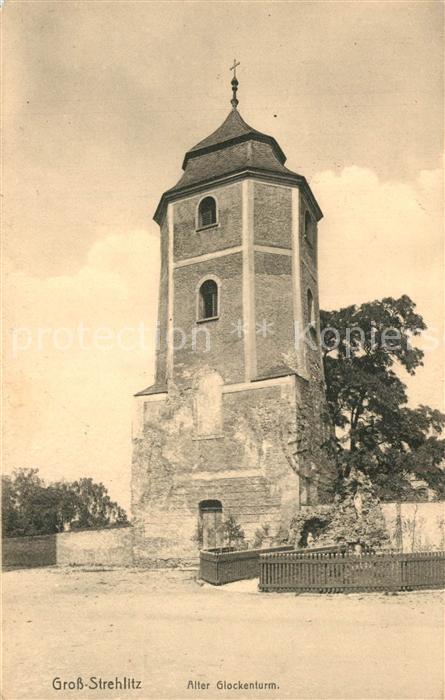 AK / Ansichtskarte Gross Strehlitz Alter Glockenturm Gross Strehlitz 0