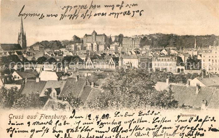 AK / Ansichtskarte Flensburg Panorama Flensburg 0