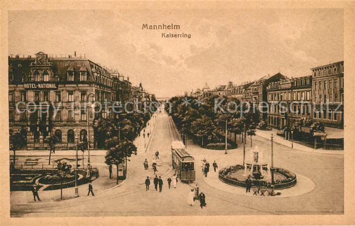 AK / Ansichtskarte Mannheim Kaiserring Mannheim