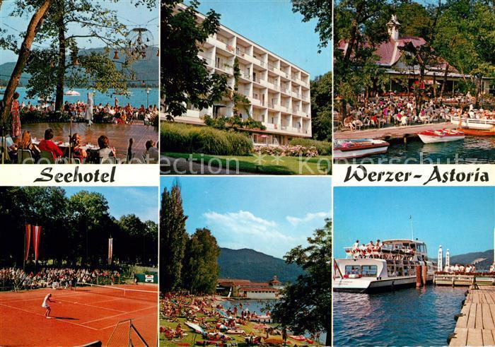 AK / Ansichtskarte Poertschach_Woerthersee Seehotel Werzer Astoria Poertschach Woerthersee