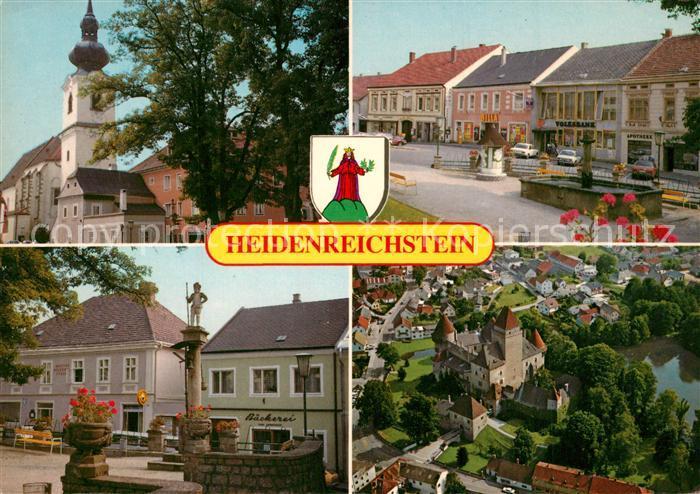AK / Ansichtskarte Heidenreichstein Waldviertel Kirche Wasserburg Heidenreichstein