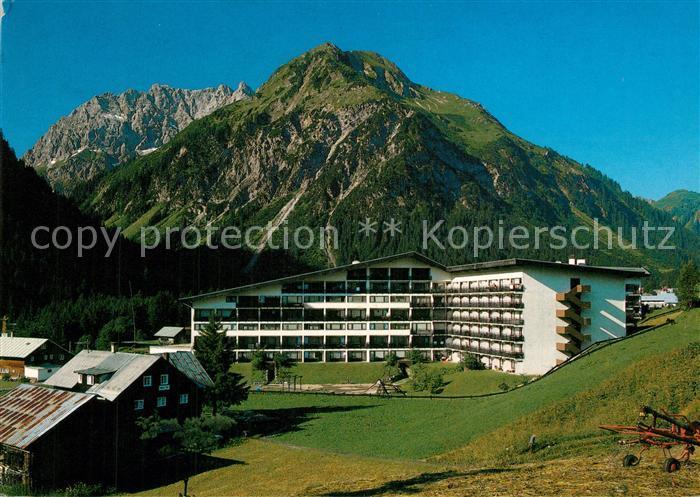 AK / Ansichtskarte Mittelberg_Kleinwalsertal Aparthotel Kleinwalsertal Mittelberg_Kleinwalsertal