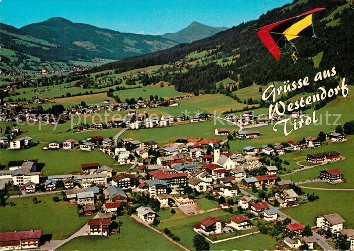 AK / Ansichtskarte Westendorf_Tirol Panorama Sessellift Nachsoellberg Westendorf_Tirol