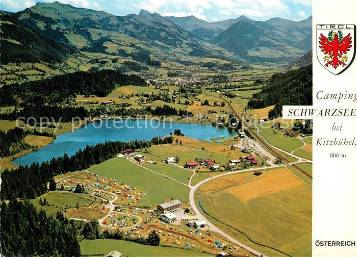 AK / Ansichtskarte Schwarzsee_Tirol Camping Schwarzsee Tirol