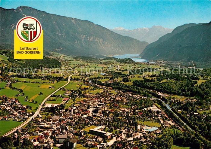 AK / Ansichtskarte Bad_Goisern_Salzkammergut Fliegeraufnahme Hallstaettersee Dachstein Bad_Goisern_Salzkammergut