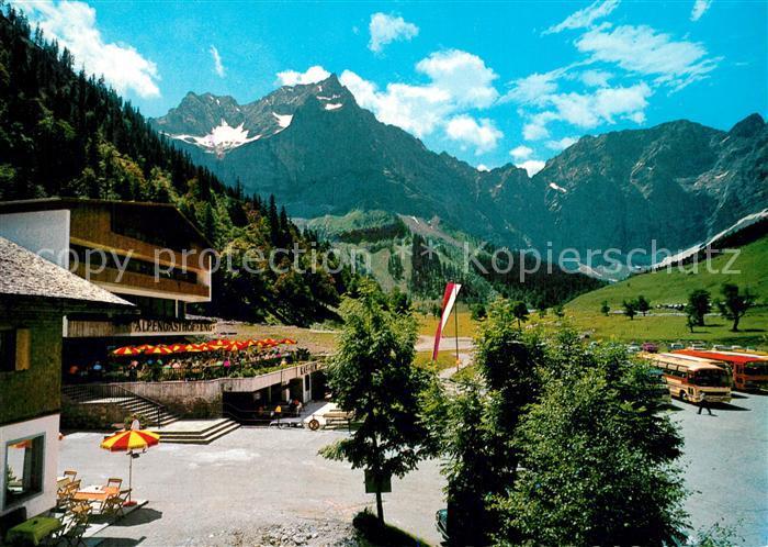AK / Ansichtskarte Hinterriss_Tirol Alpengasthof Eng Hinterriss Tirol