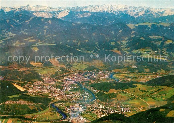 AK / Ansichtskarte Leoben Fliegeraufnahme Leoben