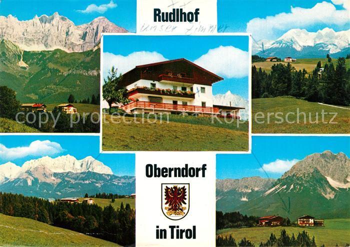 AK / Ansichtskarte Oberndorf_Tirol Rudlhof Oberndorf Tirol
