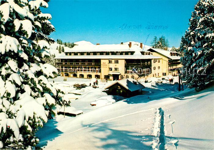 AK / Ansichtskarte Turracher_Hoehe Hotel Hochschober Winter Turracher Hoehe