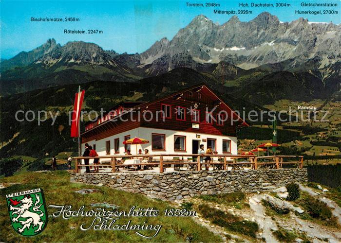 AK / Ansichtskarte Schladming_Obersteiermark Hochwurzenhuette Schladming_Obersteiermark