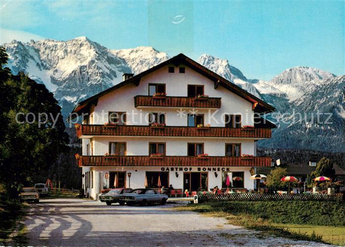 AK / Ansichtskarte Schladming_Obersteiermark Hotel Pension Sonneck Schladming_Obersteiermark