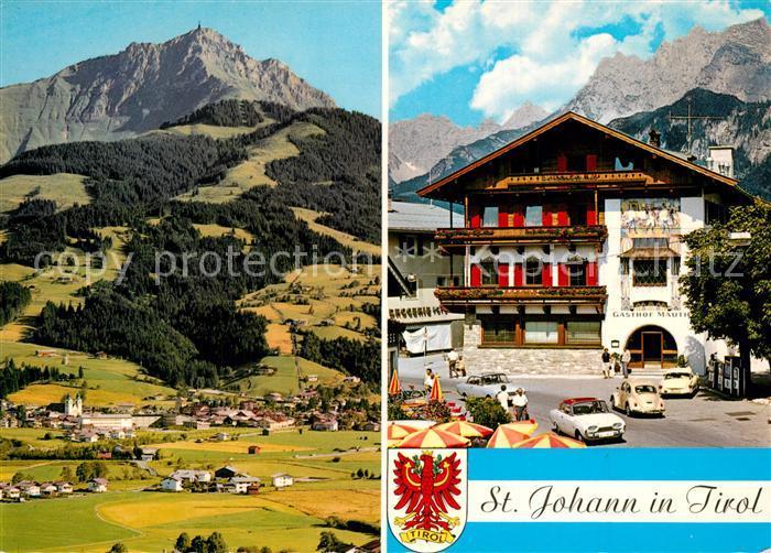 AK / Ansichtskarte St_Johann_Tirol Hotel Panorama St_Johann_Tirol