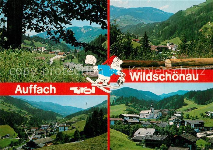 AK / Ansichtskarte Auffach Hochtal Wildschoenau Auffach