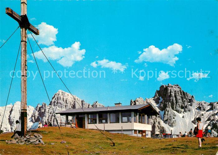 AK / Ansichtskarte Axamer_Lizum Gipfelhaus mit Gipfelkreuz am Hoadl Axamer Lizum